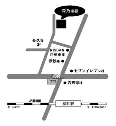 森乃楽器 地図